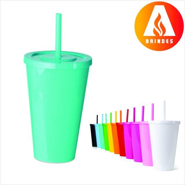 Copo Plástico 650ml para Personalização