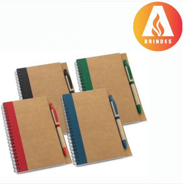 Caderno Kraft Personalizado