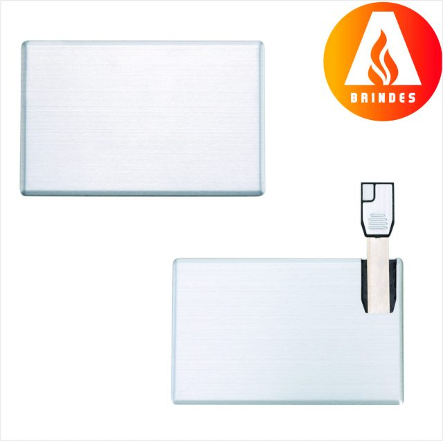 Pen Card 4GB Alumínio Promocional