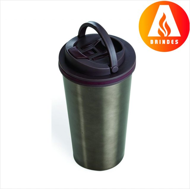 Copo Metal 450ml Promocional