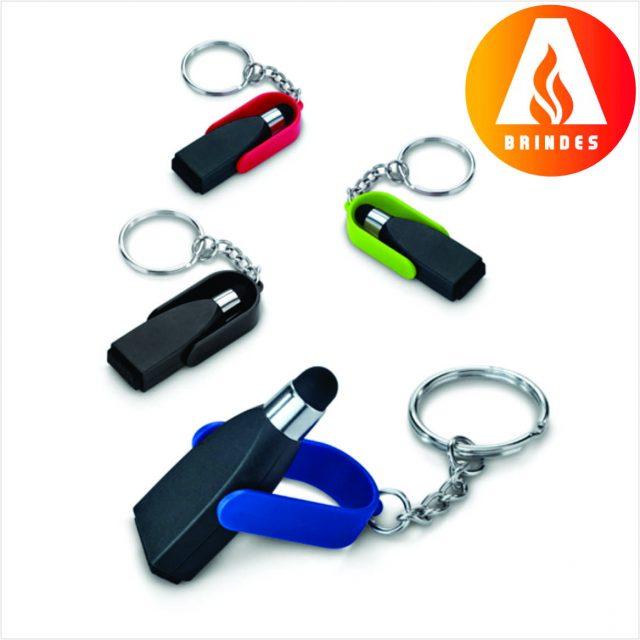 Chaveiro com Ponteira Touch Personalizado