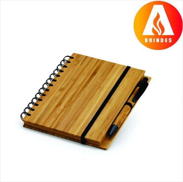 Bloco Ecológico Bambu Personalizado