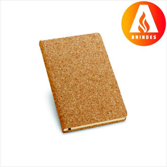 Caderno Capa Cortiça Personalizado