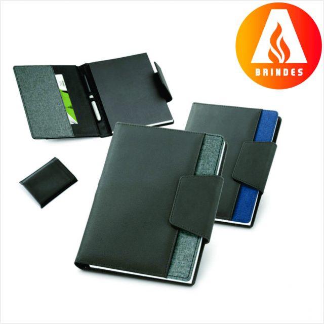 Caderno Couro Sintético para Brindes