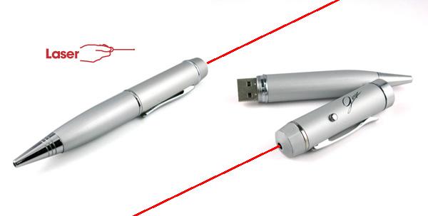 Caneta Pen Drive Laser personalizada