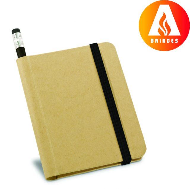 Bloco de Anotações com lápis