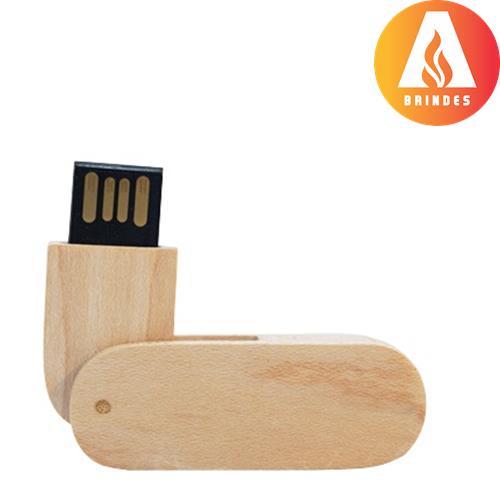 Pen Drive bambu personalizado