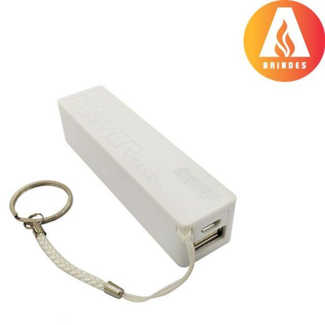Carregador portátil de celular Power Bank com 1.200 mAh personalizado