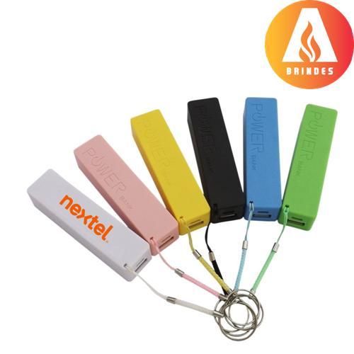 Carregador power bank personalizado