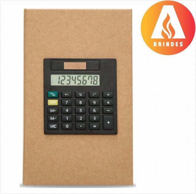 Bloco de Anotações com Calculadora Promocional