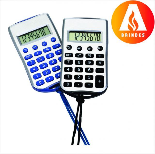 Calculadora com Cordão Promocional