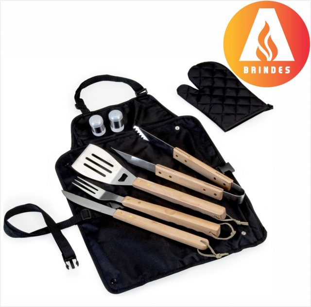 Kit Churrasco Avental Personalizado