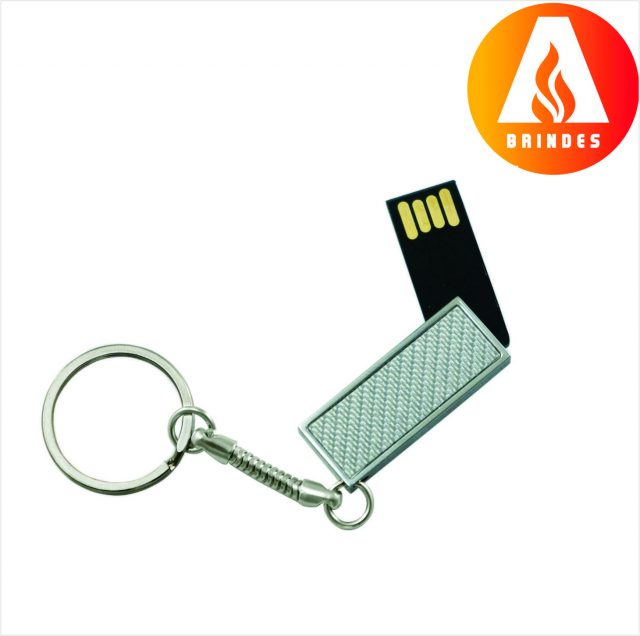 Pen Drive Giratório 4GB Personalizado