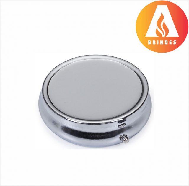 Porta Comprimido Metal Personalizado
