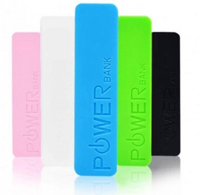 Powerbank carregador portátil de celular usb promocional
