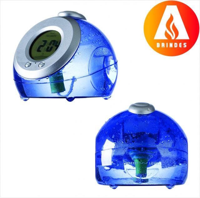 Relógio Movido à Água Promocional