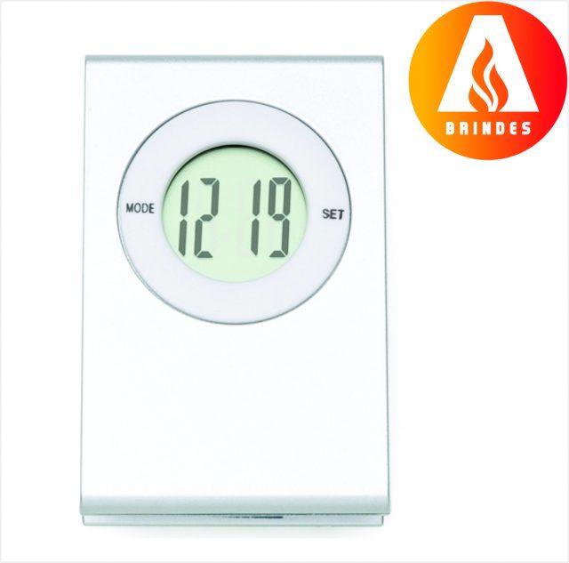 Relógio Digital Prendedor Personalizado