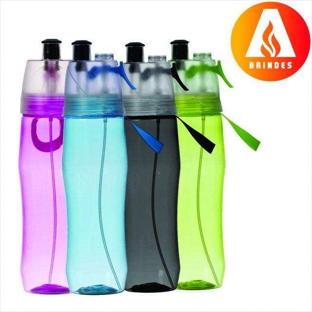 Squeeze Plástico Borrifador para Brindes